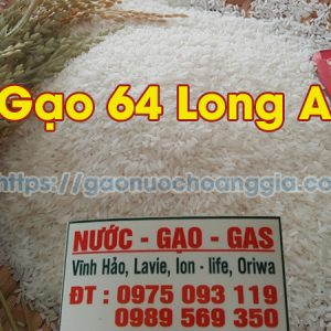 Gạo 64 Long An