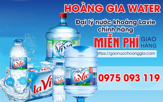 đại lý nước khoáng LaVie Hoàng Gia Water